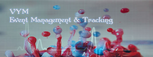 Event management and tracking software